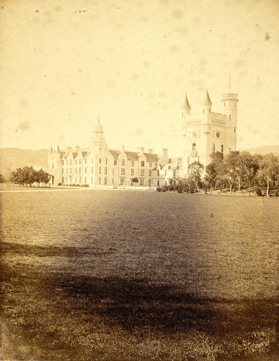 Balmoral Castle, From The South-East